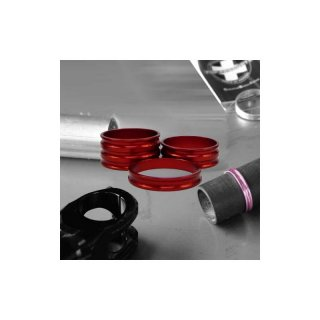 AHeadSpacer-11/8-5mm-Alloy-Red